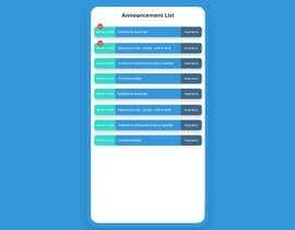 #15 cho Redesign an Announcement List Layout bởi saroahtutul