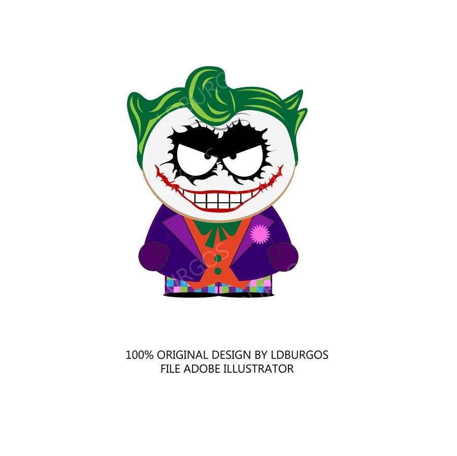 Kilpailutyö #20 kilpailussa The Joker (Batman's Villain) In Adobe Illustrator