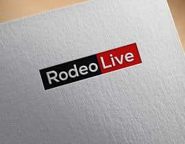 #830 untuk Logo for Rodeo Live website and app oleh Razzak970