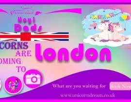 Nro 8 kilpailuun Multiple Facebook and Istagram adverts needed kids Unicorn Event käyttäjältä Shafqatmaqbool