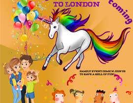 Nro 1 kilpailuun Multiple Facebook and Istagram adverts needed kids Unicorn Event käyttäjältä Mercuryy1206