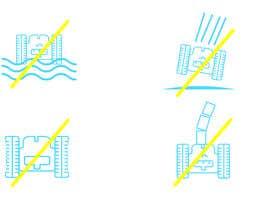 Nro 6 kilpailuun Create 4 Icons / warning symbols käyttäjältä JunaidFatyana