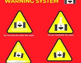 Nro 12 kilpailuun Create 4 Icons / warning symbols käyttäjältä JunaidFatyana