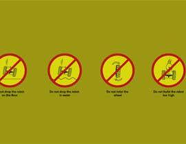 Nro 24 kilpailuun Create 4 Icons / warning symbols käyttäjältä hirdaypalaujla