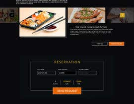 #98 для Design A Website and Logo For Restaurant от carmelomarquises