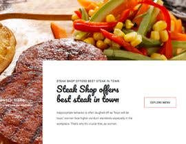 #85 для Design A Website and Logo For Restaurant от idrisakano