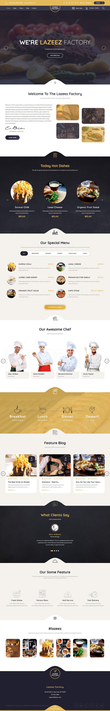 Конкурсная заявка №70 для Design A Website and Logo For Restaurant