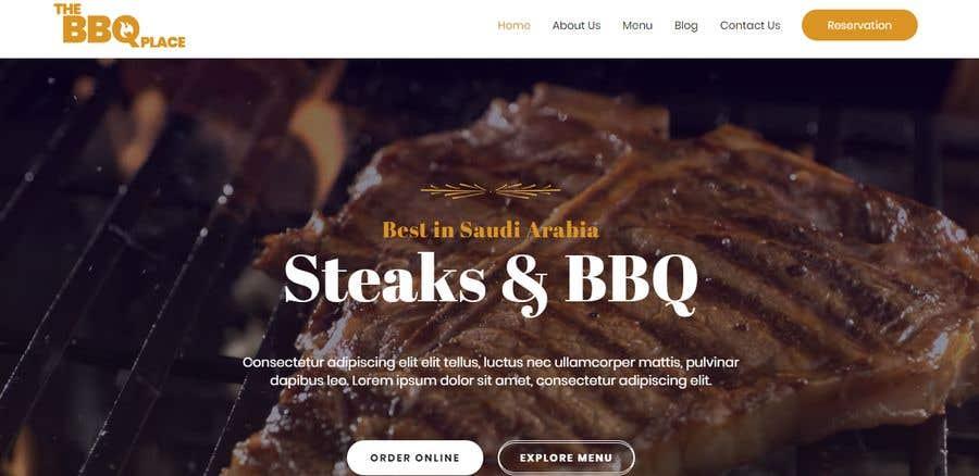 Konkurrenceindlæg #16 for Design A Website and Logo For Restaurant