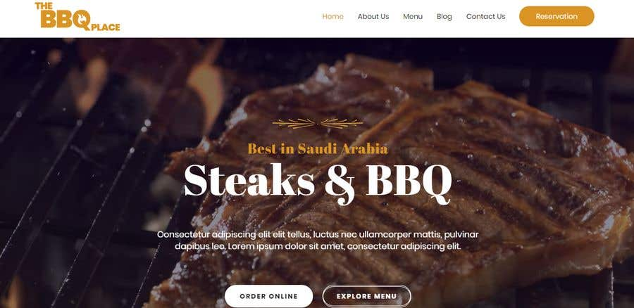 Penyertaan Peraduan #16 untuk Design A Website and Logo For Restaurant