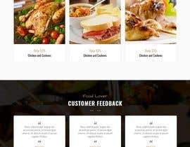 #100 untuk Design A Website and Logo For Restaurant oleh chaimadik