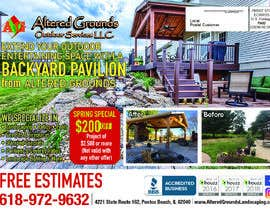 #21 for Design a print ad for landscape business 2 - 15/03/2019 14:21 EDT by dsyro5552013