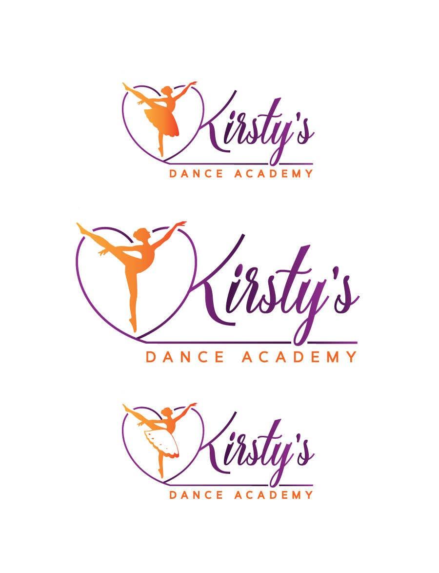 Kilpailutyö #233 kilpailussa Logo for Dance School
