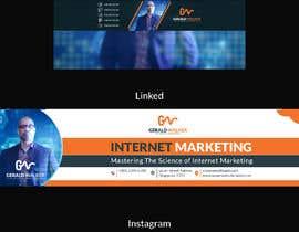 Nro 43 kilpailuun Social Media Banners käyttäjältä blphotoeditor