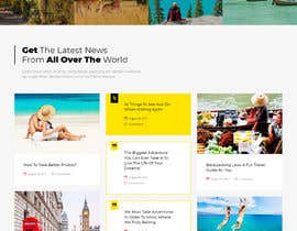 Nro 21 kilpailuun I need graphic designer for new WordPress site käyttäjältä fatimaC09