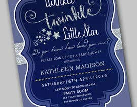 #15 untuk An Amazing twinkle twinkle little star baby shower invitation oleh adesign060208