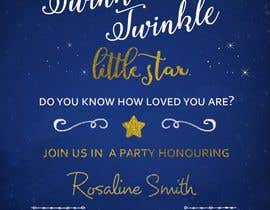#9 untuk An Amazing twinkle twinkle little star baby shower invitation oleh sonalfriends86