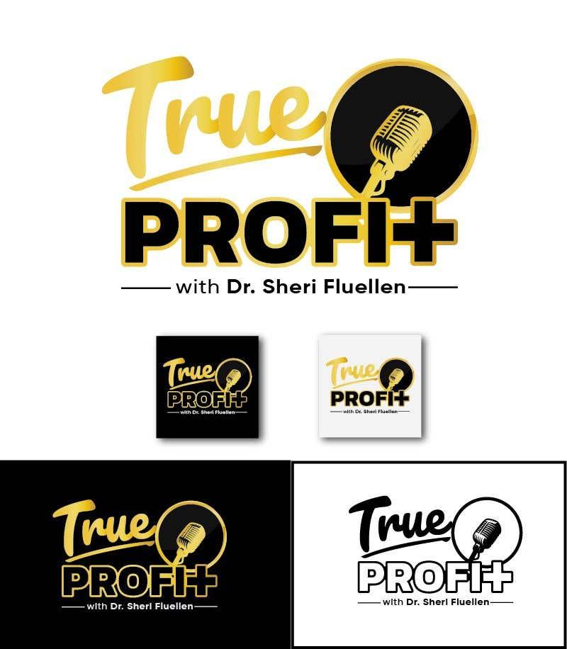Penyertaan Peraduan #53 untuk True Profit Podcast Logo