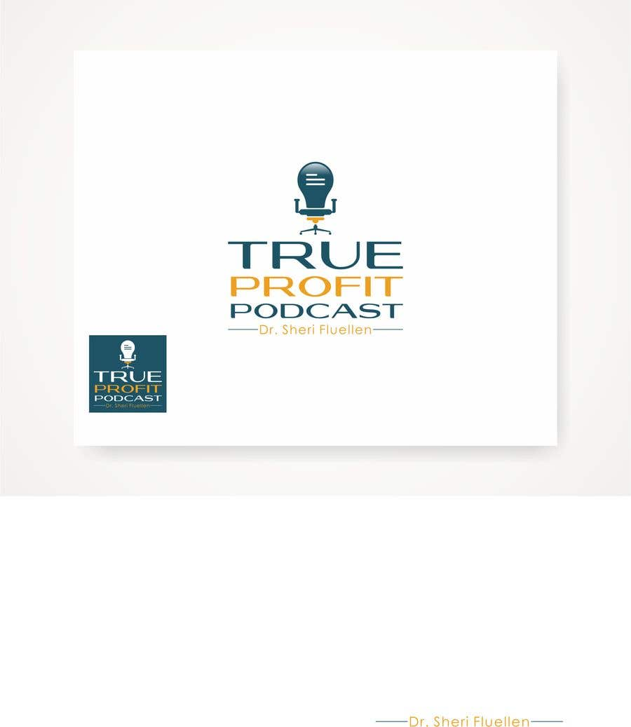 Penyertaan Peraduan #32 untuk True Profit Podcast Logo