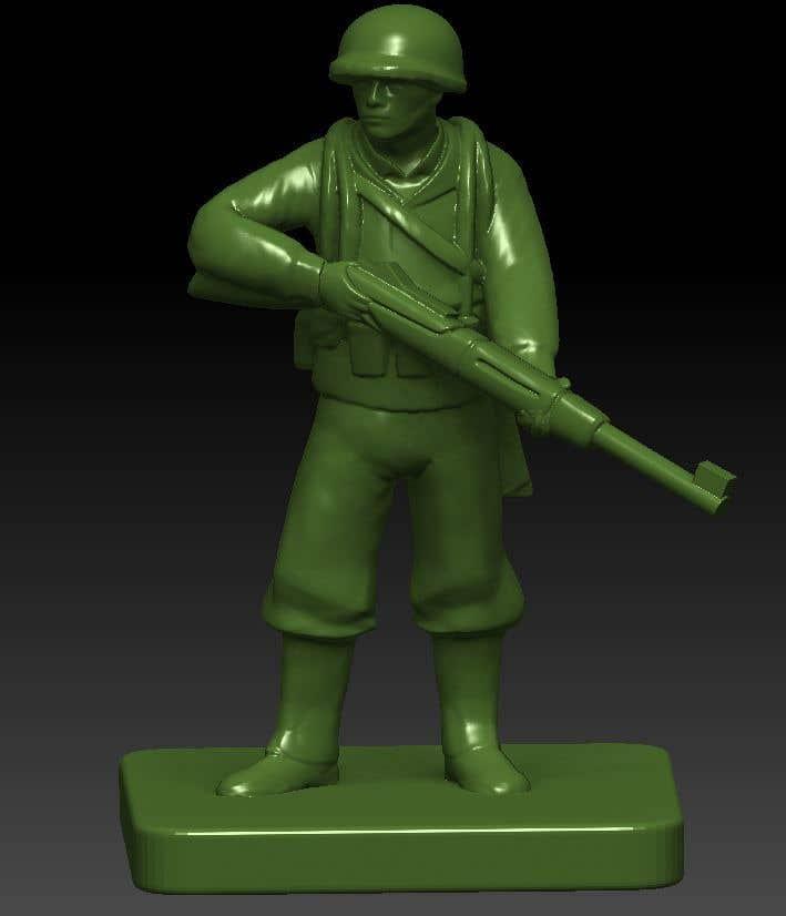 Inscrição nº 13 do Concurso para 3D Model Tiny Soldier Miniature