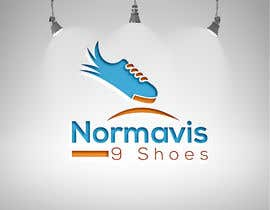 "#9 untuk Need a logo for ""Normavis 9 Shoes"". Selling mostly sneakers show me what you got. oleh arfn"