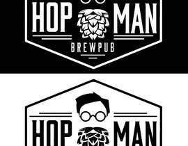 #13 pentru As you can see, we have a logo, but we need to change the slogan of it and some words. Instead of Hop Doc  - we want it to be Hop Man. And slogan should be Brewpub. If we will like your style - we will work a lot in the future! de către PSdesigner280