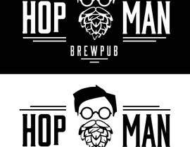 #19 pentru As you can see, we have a logo, but we need to change the slogan of it and some words. Instead of Hop Doc  - we want it to be Hop Man. And slogan should be Brewpub. If we will like your style - we will work a lot in the future! de către PSdesigner280