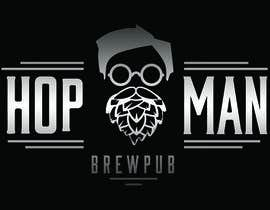 #22 pentru As you can see, we have a logo, but we need to change the slogan of it and some words. Instead of Hop Doc  - we want it to be Hop Man. And slogan should be Brewpub. If we will like your style - we will work a lot in the future! de către PSdesigner280