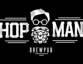 #32 pentru As you can see, we have a logo, but we need to change the slogan of it and some words. Instead of Hop Doc  - we want it to be Hop Man. And slogan should be Brewpub. If we will like your style - we will work a lot in the future! de către PSdesigner280