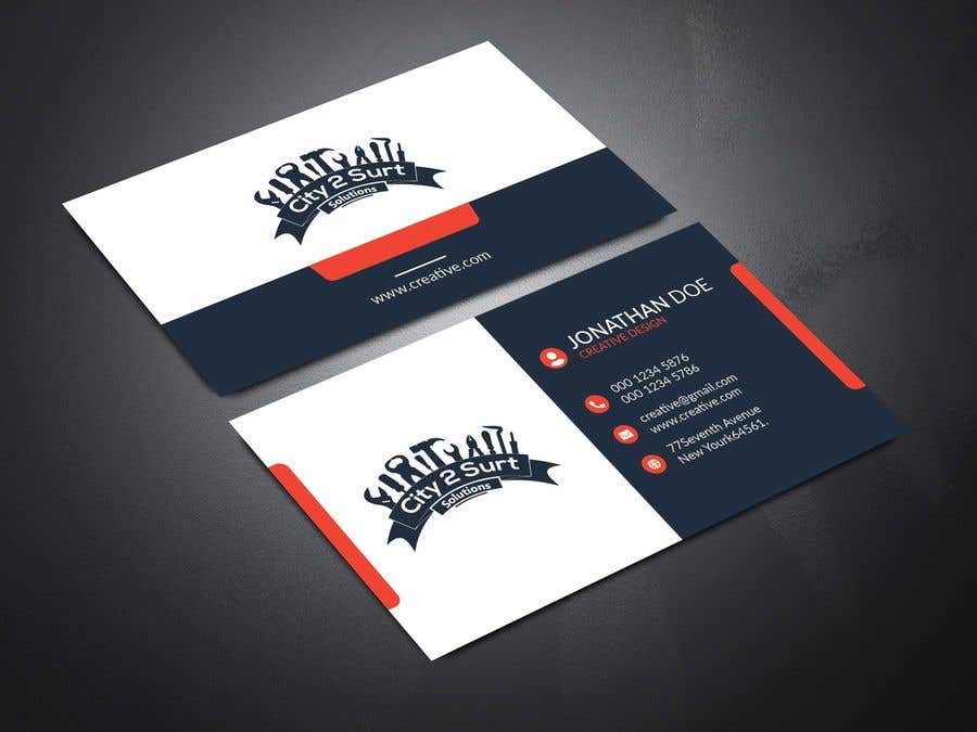 Конкурсная заявка №223 для Business card design