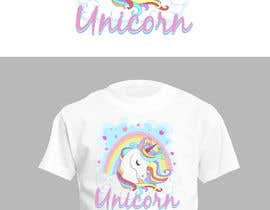 Nro 2 kilpailuun I need an original design for a unicorn themed t-shirt. It can be for kids or adults. It can be funny or serious...it's up to you. käyttäjältä abhilashkp33