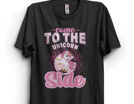 #39 for I need an original design for a unicorn themed t-shirt. It can be for kids or adults. It can be funny or serious...it's up to you. af abgenesis88