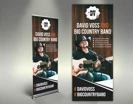 #29 untuk Vertical Banner Signage for Country Band oleh alomgirdesigner