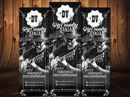 Graphic Design Contest Entry #10 for Vertical Banner Signage for Country Band