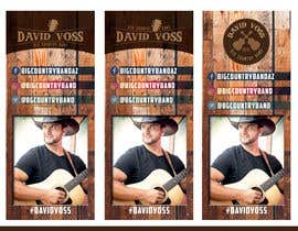 nº 19 pour Vertical Banner Signage for Country Band par b3ast61