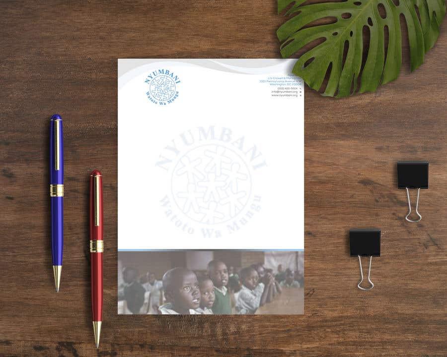 Penyertaan Peraduan #53 untuk design letterhead