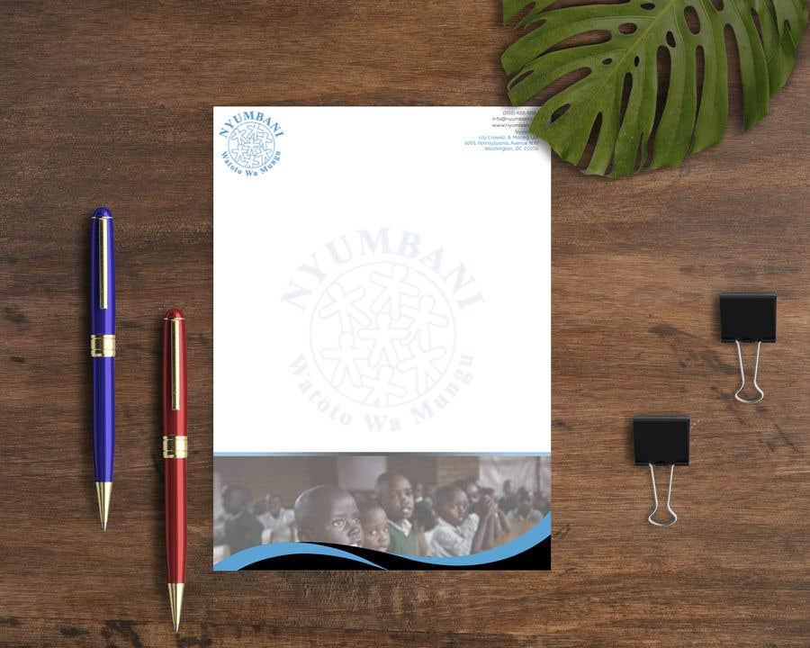 Penyertaan Peraduan #105 untuk design letterhead