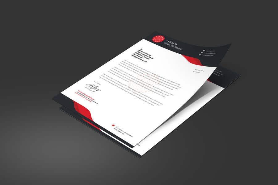 Penyertaan Peraduan #156 untuk design letterhead