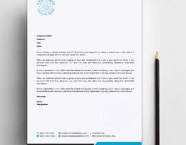 #180 untuk design letterhead oleh sabbir2018