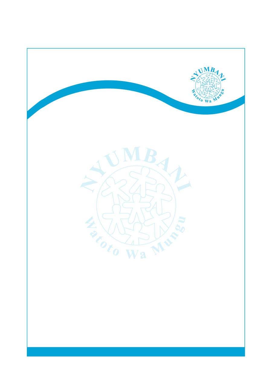 Penyertaan Peraduan #139 untuk design letterhead
