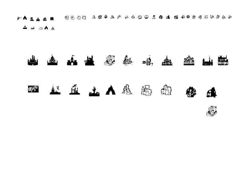 Конкурсная заявка №11 для icons for fantasy map