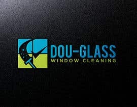 Nro 14 kilpailuun Create a logo for my window cleaning business EASY (examples provided) Doug-glass Window Cleaning käyttäjältä tahminaakther512