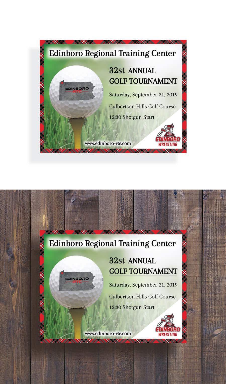 """Intrarea #6 pentru concursul """"Save The Date ERTC Golf Outing"""""""