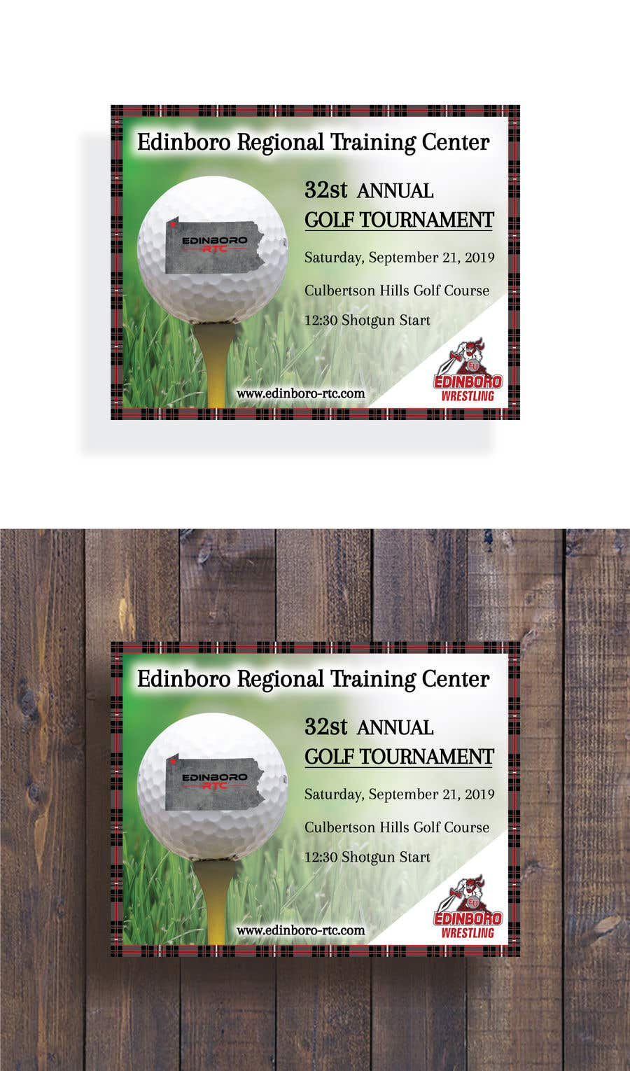 Contest Entry #7 for Save The Date ERTC Golf Outing