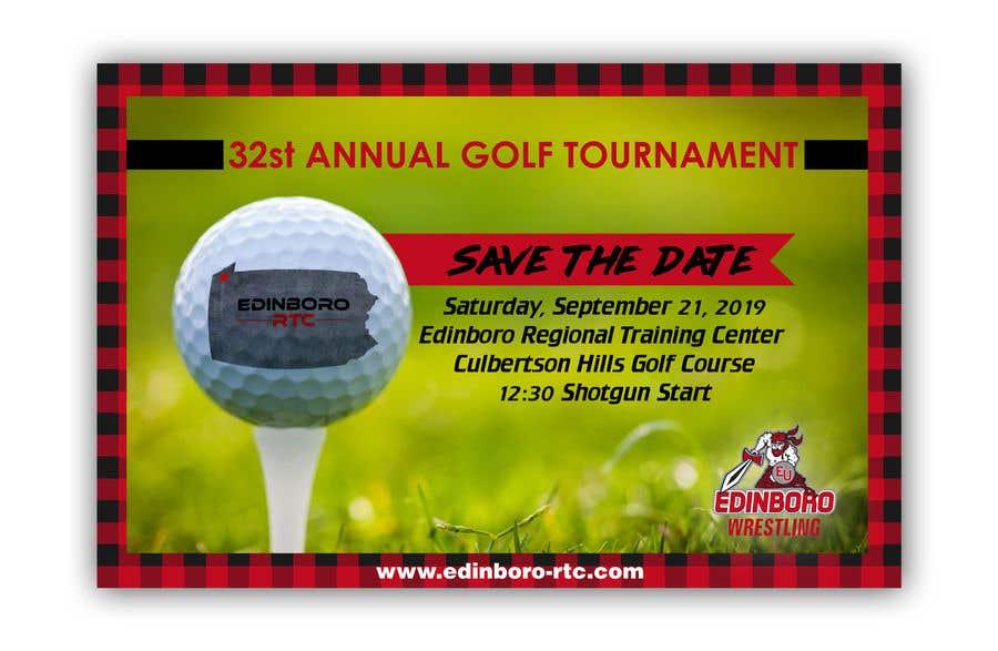 """Intrarea #5 pentru concursul """"Save The Date ERTC Golf Outing"""""""