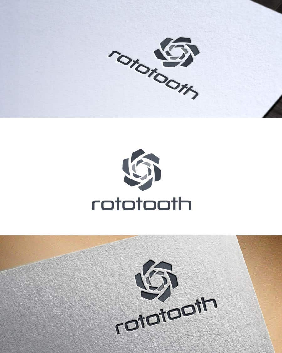 Proposition n°213 du concours Design a Modern Logo for my Product Rototooth