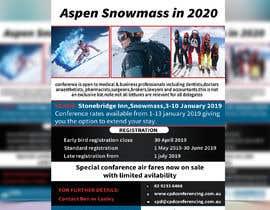 nº 47 pour Ski Conference Flyer par Almas999