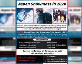 nº 48 pour Ski Conference Flyer par Almas999