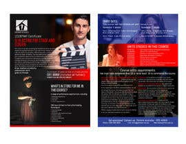 #21 for A4 brochure for performing arts school by pipra99