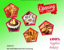 #45 for Need a flyer for a new opening of a Bakery outlet by Shakirejwuana