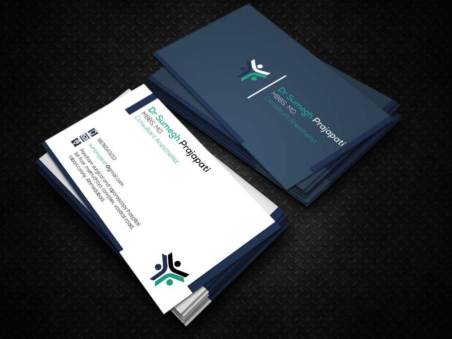 Proposition n°56 du concours Bussiness Card Design (Medical)